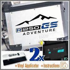 2pcs Adesivi R1250GS ADVENTURE Black Blue compatibile con BMW R1250 GS R 1250 HP