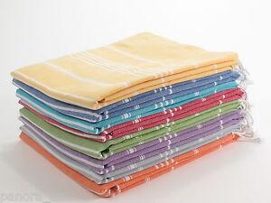 CLASSIC Authentic Turkish Towel Peshtemal Bath SPA Beach Hammam Gym 100% Cotton