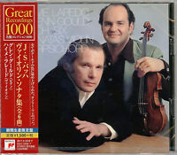 GLENN GOULD-J.S.BACH: SIX SONATAS FOR VIOLIN AND HARPSICHORD -JAPAN CD C94