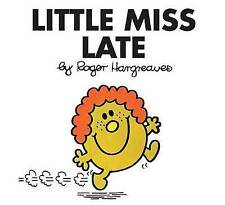 Little Miss Late by Hargreaves, Roger -Paperback