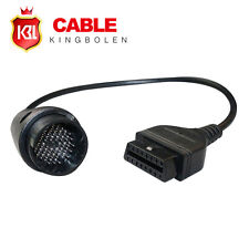 38 pin to 16 Pin Adapter Cable for Benz obd1 to obd2 Connector cable free ship