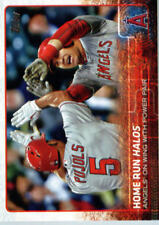 2015 Topps Update #US213 Home Run Halos Albert Pujols Mike Trout - NM-MT