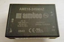 AME15-24SMAZ AME15 -24 SMAZ convertisseur ac/dc 15W uout 24VDC iout 0.63A