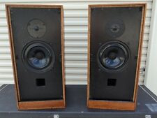 TANGENT RS-4 RS4 SPEAKERS, VINTAGE ENGLISH ROSEWOOD, BEXTRENE AUDAX & KEF T-27