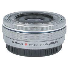 Olympus M.Zuiko Digital ED 14-42mm 3.5-5.6 EZ silber Pancake Messeware #X2348