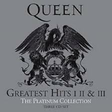QUEEN -GREATEST HITS  I II&III-THE PLATINUM COLLECTION  3CD SET