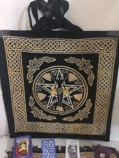 Morgan Greer Tarot Set - PLUS Goddess Tote And Layout Cloth, Rose Quartz & Bag
