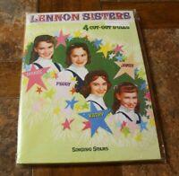 Lennon Sisters Vintage Repro Paper Dolls Portfolio Green Cover Inc. KatJan