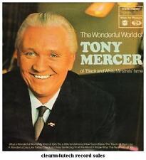 THE WONDERFUL WORLD OF TONY MERCER - LP Vinyl Record