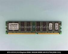 Kingston KTA-G5333/1G DDR 1GB 2x512MB PC-2700 Non ECC 333Mhz RAM Memory