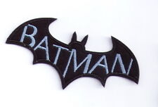 10x chiropter flittermouse light blue Bat Wings Hero Iron On patch Dc Comics