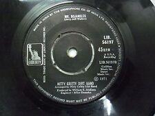 "NITTY GRITTY DIRT BAND MR BOJANGLES LIB 56197 RARE SINGLE 7"" INDIA INDIAN 45 VG+"