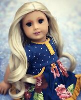 ooak custom american girl doll Blonde