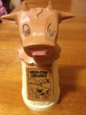 Vintage Whirley Indrustries Moo Cow Creamer Milk Or Cream From Mouth