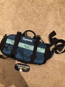 Supreme Dark Teal Waist Bag FW19 - Authentic