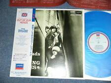 ROLLING STONES Japan 1981 Blue Wax Vinyl LP+Obi OUT OF OUR HEADS UK Version