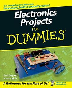 Electronics Projects For Dummies by Boysen, Earl Paperback Book The Cheap Fast