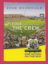 Columbus Crew 2006 Schedule MLS Soccer Futbol – Player Photos