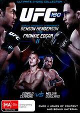 UFC 150 HENDERSON VS EDGAR II (2 DISCS) (2012) NEW DVD
