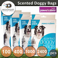[100 400 1000 2400pcs] Dog Poo Waste Bags Scented-Pet Cat Pooper Scooper Toilet