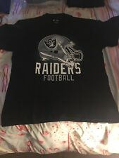 NFL LA Raiders Strength T Shirt LARGE Derek Carr/Marshawn Lynch Official Apparel