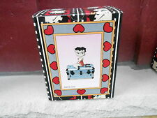 1998 Nrfb Betty Boop Steamer Trunk Figure (S21D)