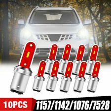 10X White S25 1157 Bay15d 1860 SMD LED Parking Tail Brake Stop Backup Light Bulb