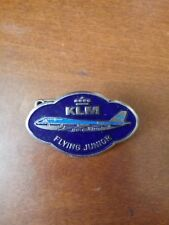 Vintage KLM Airlines Flying Junior Pilot Old Badge Pin
