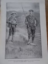 Original 1919 Print / Book Illustration The Empire Annual for Boys FLY FISHING