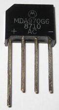2 Pcs Motorola High Quality Bridge Rectifier - 600V, 4Amp NEW