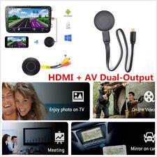Car Auto Media DLNA Miracast Airplay WIFI Screen Mirroring Dongle TV HDMI AV RCA