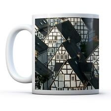 Fachwerkhaus Buildings - Drinks Mug Cup Kitchen Birthday Office Fun Gift #8927