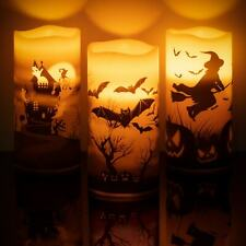 LED Candle Battery Operated Tea Light Flickering Halloween Decoration Haunted