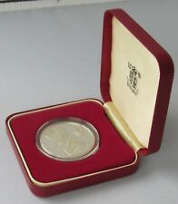 1997 silver proof £5 (five pound) coin, cased  from RM