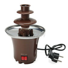 Quality Chocolate Fountain Machine Fondue Maker Heated 3-Tier Home Household C
