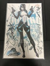 Marvel Dominio #1 A SIGNED Exclusive J Scott Campbell Deadpool Cable w/COA