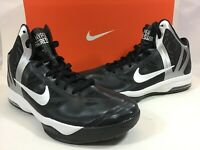 Nike Women's Air Max Hyperagressor TB Black / White Basketball Shoes Size 9.5