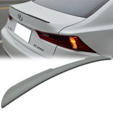 Painted FRP For LEXUS IS250 IS350 IS300h IS250 F Rear Trunk Spoiler Wing 13-17