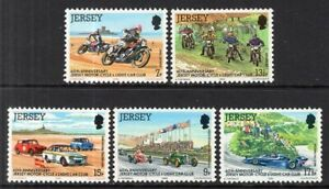 Jersey #231-235 MNH CV$1.40 Motorcycle Light Car Club