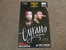 Antony Sher in CYRANO de Bergerac Limited Season LYRIC Theatre Original Poster