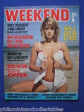 Weekend Magazine - Coffins, Rock Hudson, Penny Mallet    16th Oct 1974