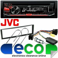 Renault Megane 2005 - 2009 JVC Bluetooth CD MP3 Car Stereo & Steering Wheel Kit