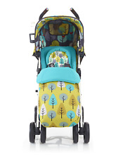Cosatto To and fro Reversible 2 in 1 Pushchair Stroller Firebird Footmuff PVC