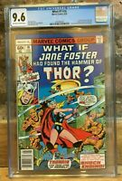 What If #10 1978 1st Appearance of Jane Foster as Thor OW/White P CGC 9.6