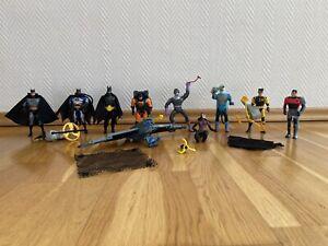 Superhelden Figuren DC Actionfiguren Sammlung Batman, Catwomen Kenner