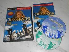 Chessmaster 9000-Schachmeister 9000-PC Spiel-Original Komplett **
