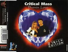 CRITICAL MASS - Burnin' love 2TR CDS 1996 HAPPY HARDCORE / ID&T / PENGO