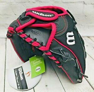 "Wilson RHT Flash WTA04RF1612 12"" Fastpitch Softball Glove NWT"