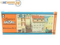 E143 VERO H0 TT 2/51 Mamos Gebäude-Bausatz Wohnhaus Nr. 2 *NEU*