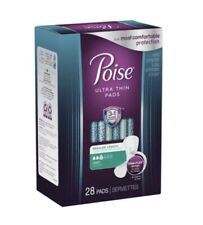 Poise Ultra Thin Pads Light Absorbency 28 Count